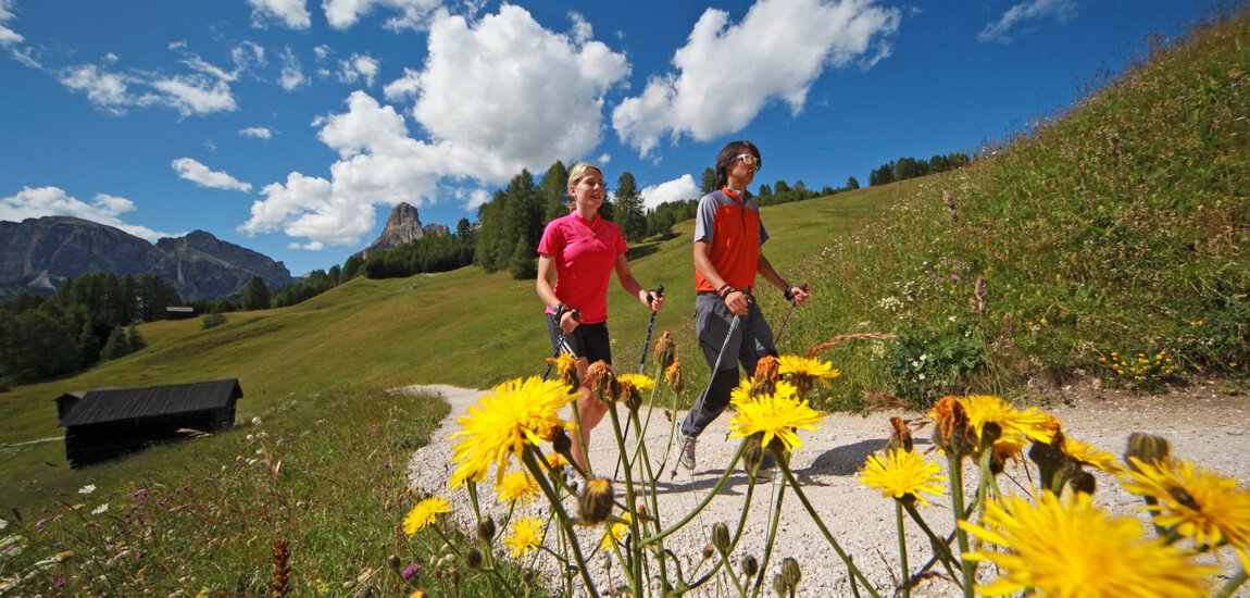 Hiking vacation in the Dolomites